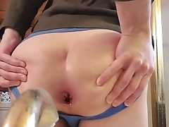twink boy farting out a huge load of cum from a 57 year old hookup