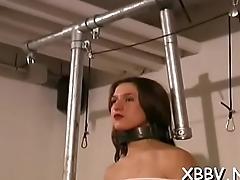 Flexible tit torture porn scenes