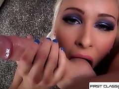 FirstClassPOV - Sexy Stevie Shae sucking a big dick, big booty &amp_ big boobs