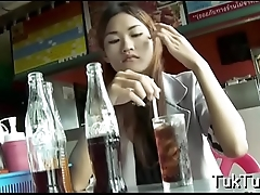 Talented thai slut blows a shlong