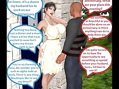 3D Comic Cuckold Wife Gets Dirty With Her Boss On Her Anniversary