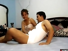 Hot bhabhi fuck hardcore on bed her bigass