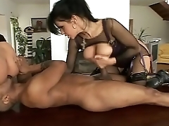 Two Sluts take a big black cock in the ass!