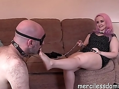 Foot Fetish And Verbal Humiliation - Strict British Training