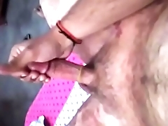 Home alone Guy Massage and Masturbate his thick dick
