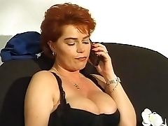 Sexy mature woman asks for a young cock