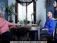 DaughterSwap - Yoke Teen Daughters Swap And Fuck Their Dads