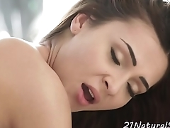 Doggystyle fucked european babe sucks cock