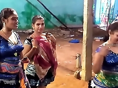 Latest Wonderful Closeup Dance with an increment of Funny Speech Midnight Karakattam in Tamil Nadu 2017 4K