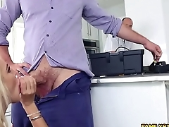 Tiffany Watson got a mouthful of Kyles cock