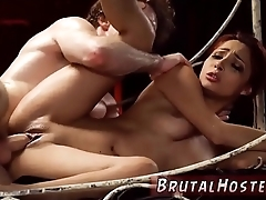 Two girls rough gangbang Wretched tiny Jade Jantzen, she unequalled wanted to