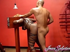 King Noire Fucks Imani Seduction in the Pillory