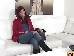 Hot Red Hair Babe Fucked at bottom Couch(Jessica Red) 01 mov-09