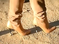 Best Belgian Moms Flashing in Boots. see pt2 at goddessheelsonline.co.uk