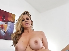 Spizoo - Legendary Julia Ann fucking a big dick, big boobs &amp_ big booty