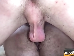 Barebacked amateur sperms