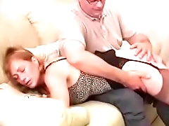 Best Cur� Spanking Mom Ever. Heels Stockings. See pt2 at goddessheelsonline.co.uk
