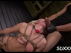 Busty latina completely disgraced