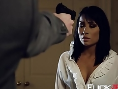 Rina Ellis In Poon Raider XXX Parody Scene 2