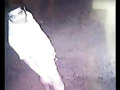 Guy pissing spy cam