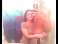 Beautiful Armenian bitch sucks and fucks a big black dick round her mom&rsquo_s bathroom