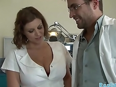 Busty dolour screwed by her patient