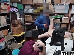 Gal Thief Gets Slammed Hard