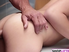 Stiff Dick Punishment For Teen Thief Avi