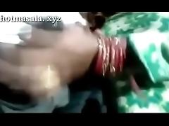 indian beautiful new married bhabhi doing Hot job