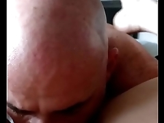 old dude licking his chubby employees slutty amateur pussy