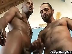 Gay Gloryhole And Interracial Handjob Video 27