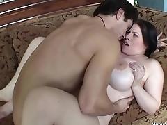 Chubby MILF Big Tits Fucking Hard