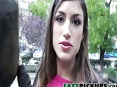 Latina Cutie Gets Stalked By Assail In Public