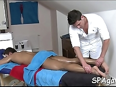 Homosexual massage temptation