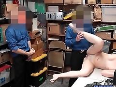 Teen Takes 2 Cocks To Avoid Jail
