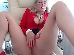 Erotic woman lives office webcam porn tease