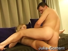 Blond student was fucked by user