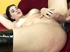 Short Haired BBW Anal Sex