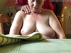 76 excellence old mother in law,nice tits