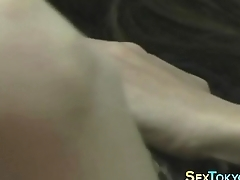 Small tits asian rubs