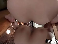 Oriental cum-hole toying and blowbang