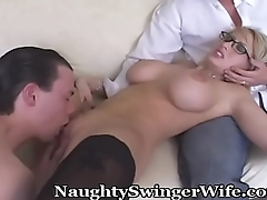 Swinger Wife Shares Her Great Tits