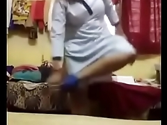 Big hanging boobed college girl selfi for her BF (Clip-2)- Desimasala.co