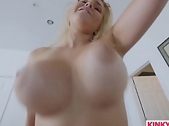 Stretching Out His Sultry Stepmom Vanessa Cage