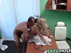 Cute Patient Fucked Steadfast by Doctor - Victoria Pure