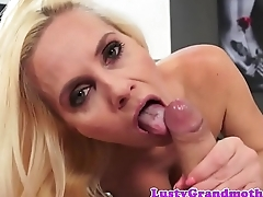 Busty european GILF fucked in pov action