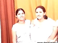Sanjana enjoy lesbian sex with two girls- Desimasala.co