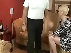 Dad Spanks Moms Best friend then Fucks her. See pt2 at goddessheelsonline.co.uk