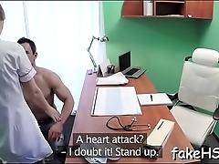 Comport oneself hospital hosts a breathtaking fuck