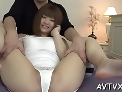 Ultra-wet japanese fur pie toying